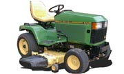 John Deere 455 lawn tractor photo