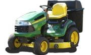 John Deere 155C lawn tractor photo