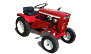 Wheel Horse Workhorse 700 lawn tractor photo