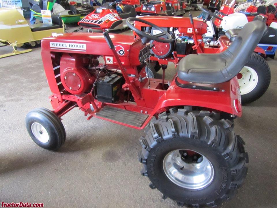Tractordata Com Wheel Horse 8hp Tractor Photos Information