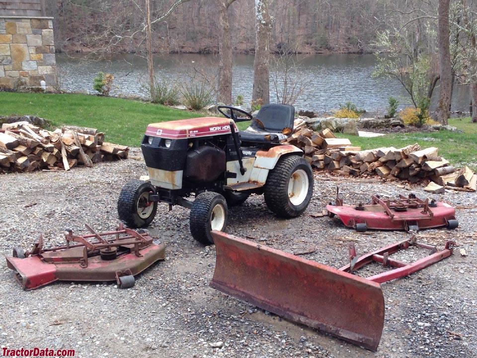 Wheel Horse Tractor Attachments : Tractordata wheel horse gt tractor photos information