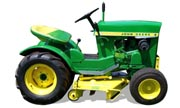 John Deere 110 lawn tractor photo