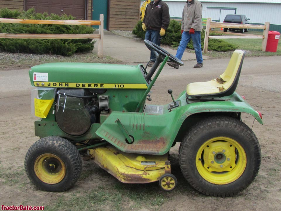 5 td4 b03 ext270 jd 110 no spark mytractorforum com the friendliest tractor John Deere 140 Hydrostatic Tractor at gsmportal.co