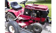 Wheel Horse 252 lawn tractor photo