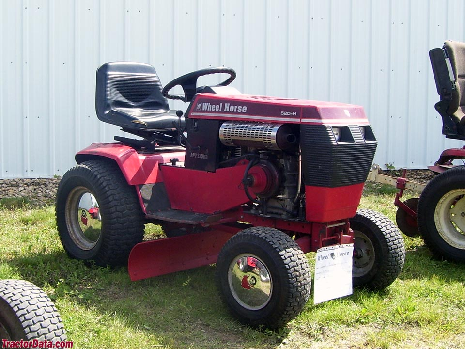 Wheel Horse 520-H hydrostatic.