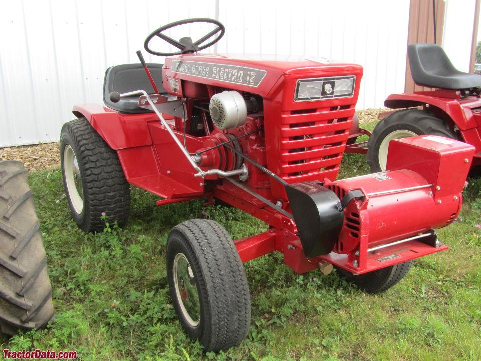 Lawn Tractor Generator : Tractordata wheel horse electro tractor photos