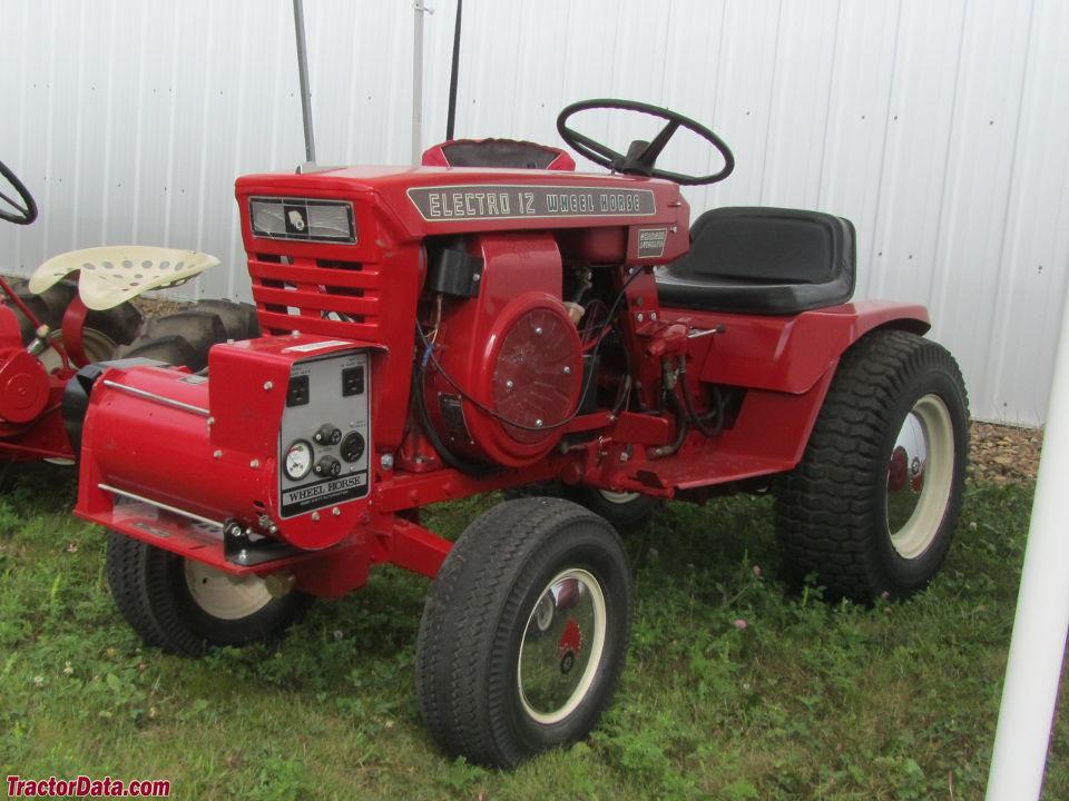 Wheel Horse Tractor Attachments : Tractordata wheel horse electro tractor photos