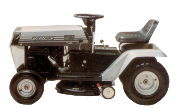 White T-85 lawn tractor photo