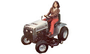 White GT-1020 lawn tractor photo