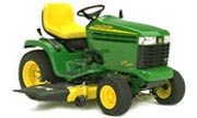 John Deere GT245 lawn tractor photo