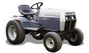 White GT-1655 Yard Boss lawn tractor photo