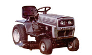 White LGT-1655 lawn tractor photo