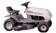 White L-12 lawn tractor photo