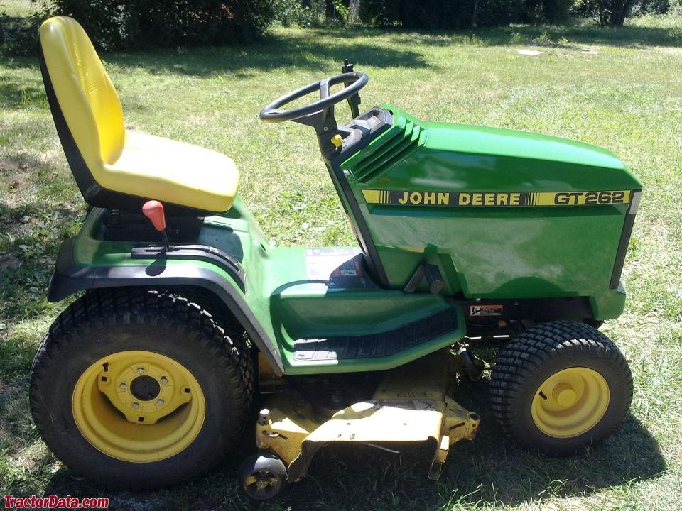 John Deere Gt262 : Tractordata john deere gt tractor photos information