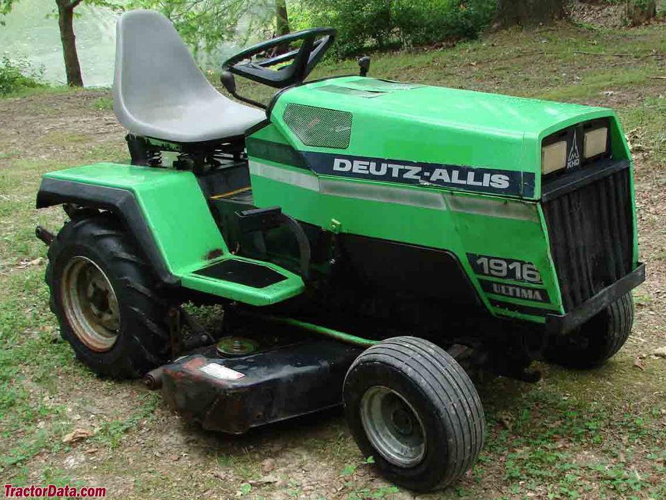 TractorData.com Deutz-Allis 1916 Ultima tractor photos information