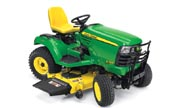 John Deere X749 lawn tractor photo
