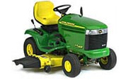 John Deere LX255 lawn tractor photo