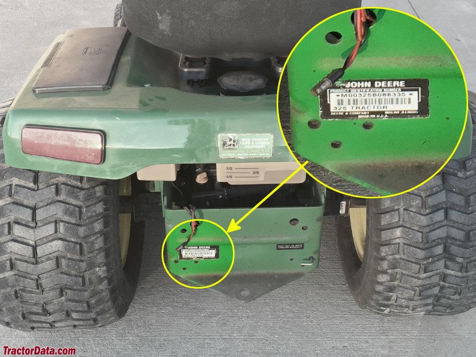 TractorData com John Deere 325 tractor information