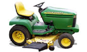 John Deere 345 lawn tractor photo
