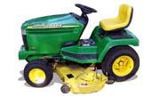 John Deere 335 lawn tractor photo