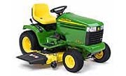 John Deere GX255 lawn tractor photo