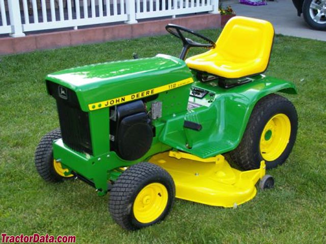 tractordata com john deere 112 tractor photos information john deere model 112 electric lift 1972