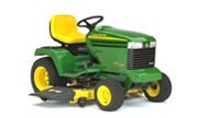 John Deere GX325 lawn tractor photo