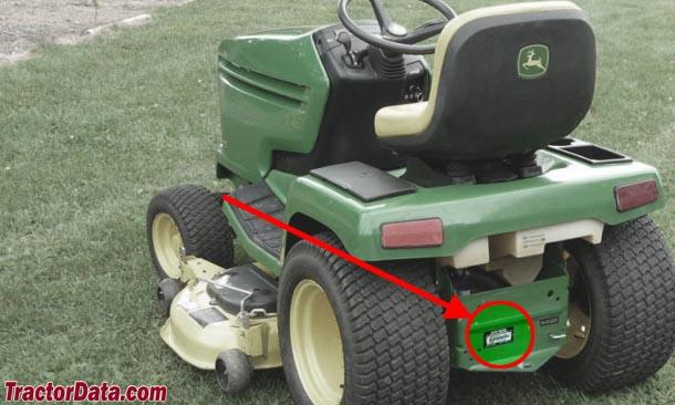 TractorData com John Deere GX325 tractor information