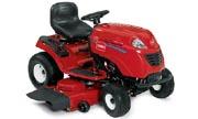 Toro LX466 lawn tractor photo