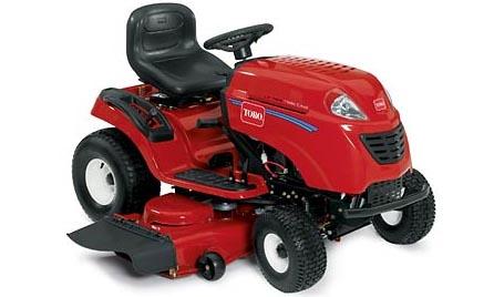 Toro LX468 lawn tractor photo