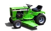 Toro LX465 lawn tractor photo