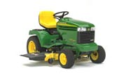 John Deere GX335 lawn tractor photo