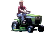 Deutz-Allis 1814 Sigma lawn tractor photo