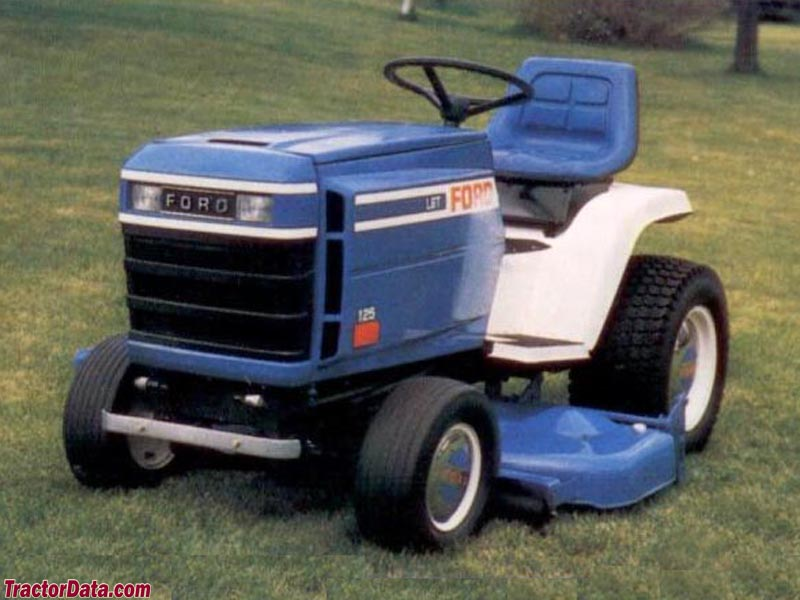 TractorDatacom Ford LGT 125 tractor photos information