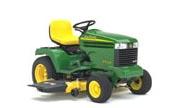 John Deere GX345 lawn tractor photo