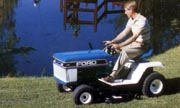 Ford LT-8 lawn tractor photo