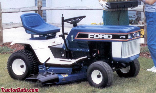ford lawn mowers lt 16
