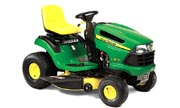 John Deere LA125 lawn tractor photo