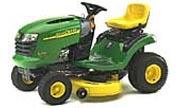 John Deere L100 lawn tractor photo