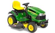 John Deere LA165 lawn tractor photo