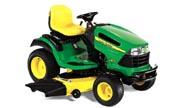 John Deere LA175 lawn tractor photo
