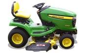 John Deere X360 lawn tractor photo