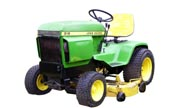 John Deere 316 lawn tractor photo