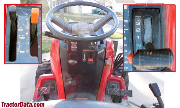 TractorData.com Honda H6522 tractor transmission information