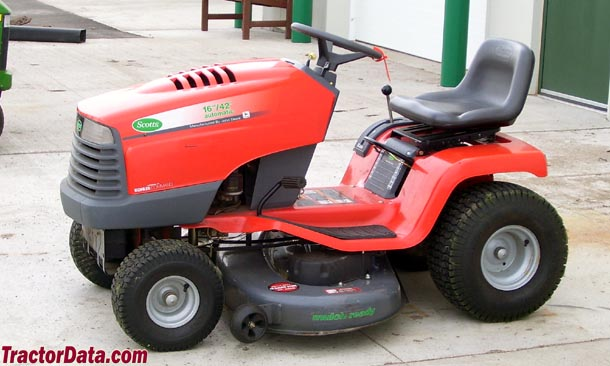 how to start a scotts riding mower