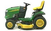 John Deere L120 lawn tractor photo
