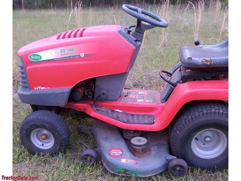 Scotts S1742 Lawn Tractor Parts : Scotts john deere wiring diagram e
