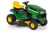 John Deere 115 lawn tractor photo