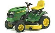 John Deere L130 lawn tractor photo