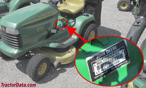 Tractordata John Deere Lt150 Tractor Information. John Deere Lt150. John Deere. John Deere La150 Automatic Belt Diagram At Scoala.co